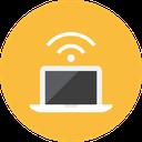 اشتراک فایل با کامپیوتر توسط Wifi icon