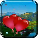 Heart Balloons Live Wallpaper icon