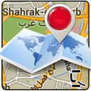 fine iran & world Map icon
