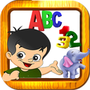 kids Learning Animals numbers color