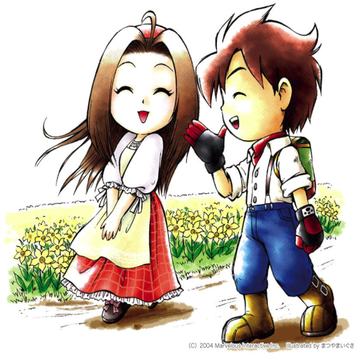 Harvest Moon Back To Nature Girl