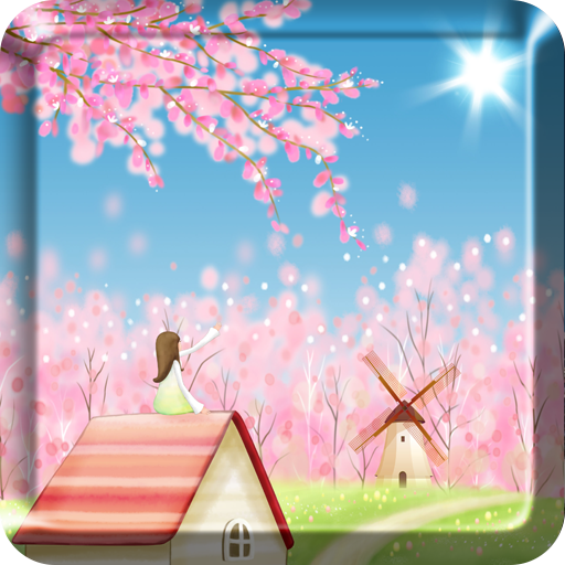 Sakura Live Wallpaper FREE - Download  Install Android Apps