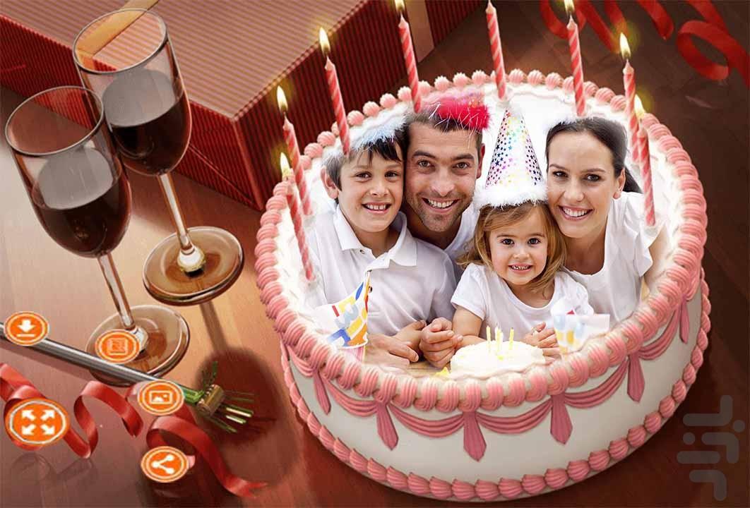 عکس رونالدو روی کیک تولد