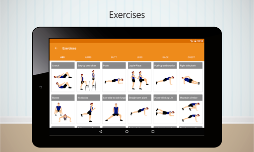 Home Workouts screenshot