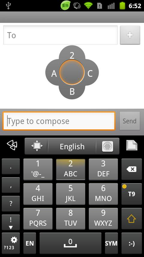 GO Keyboard Gingerbread Theme - Download | Install Android Apps | Cafe ...