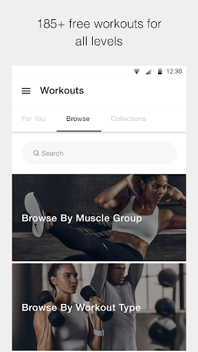 Nike Training Club - Workouts & Fitness Plans screenshot