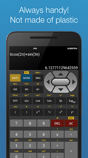 Scientific Calculator Free screenshot