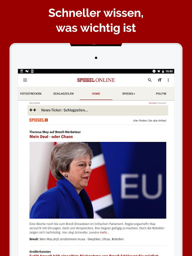 Spiegel online news download install android apps for Spiegel news