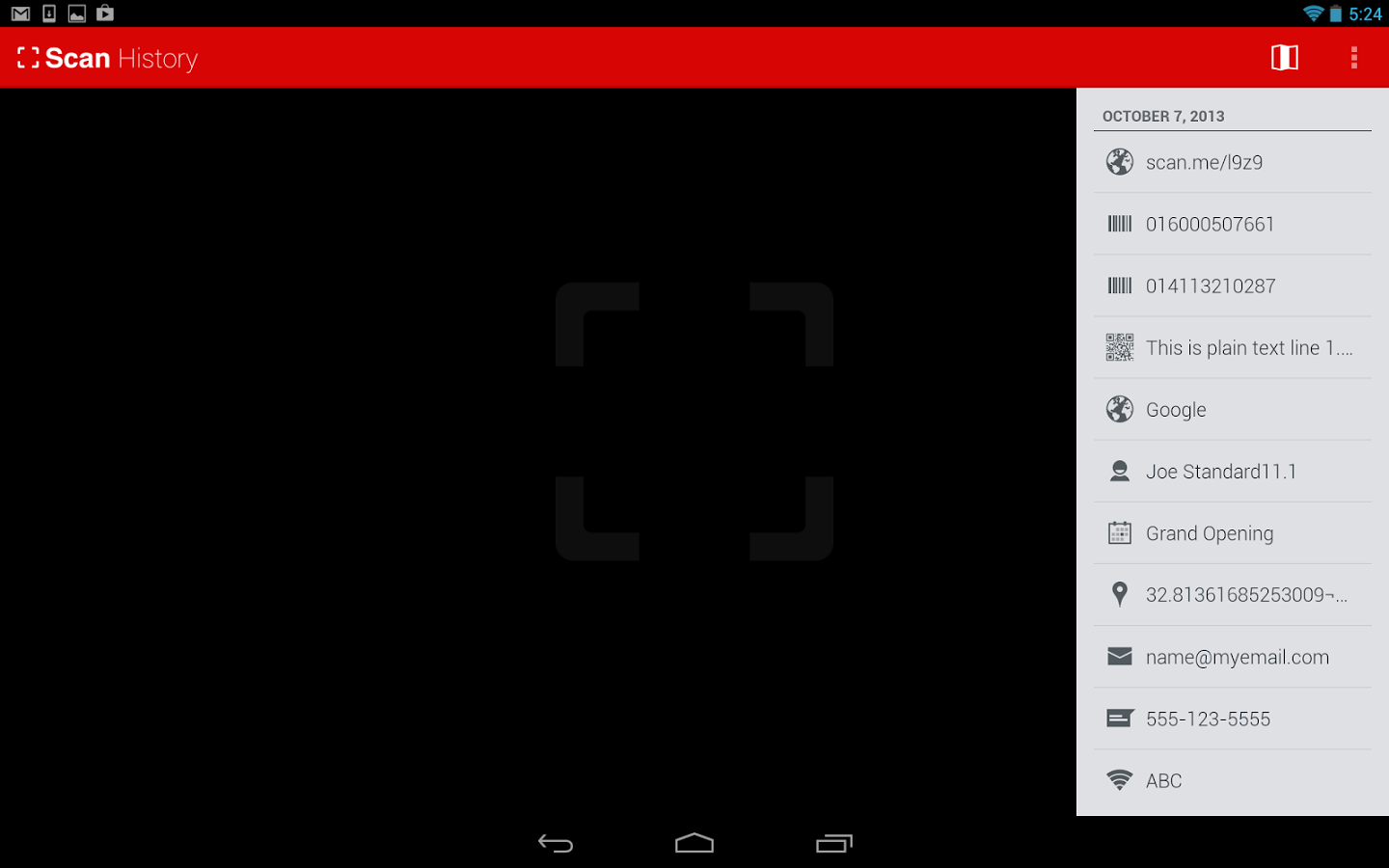 Qr code reader app for android free download