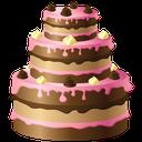 شیرینی و کیک با میوه