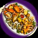 غذاهای خوش مزه دریایی