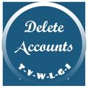حذف اکانت (تلگرام , وایبر , ...)