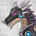 Robot Black Dragon Toy War