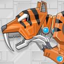 Toy Robot Rampage Smilodon War