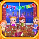هیزل کوچولو در جشن سال نو