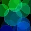 والپیپر زنده دایره های نورانی