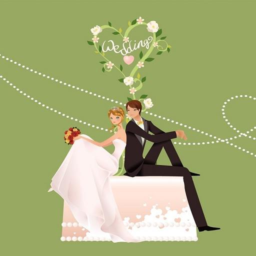 Открытки новинки, открытки с зеленой свадьбой