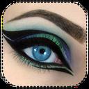 آرایش چشم و لب