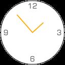 ساعت متریال