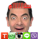 Stickers funny Mr. Bean