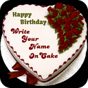 Name On Cake