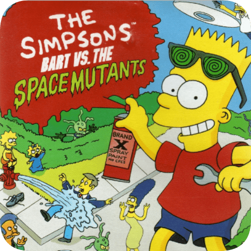 Simpsons,The-Bart Vs Space Mutants