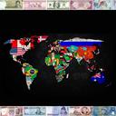 150 کشور (اسکناس، نشان ملی و ...)