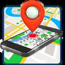 Mobile locator on training map