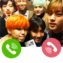 Bts Fake video call me