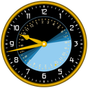 Sunclock - Astronomical Clock, Sunrise, Sunset