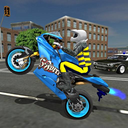 Sports bike simulator Drift 3D
