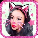 Cat Face Camera Selfie