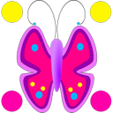Flowers Butterfly Doodle Text!
