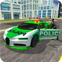 Police Chase Real Cop Driver 3d