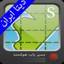 نقشه مرکز و جنوب ایران جهان نما