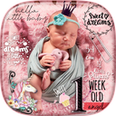 Cute Baby Photo App