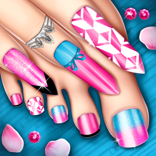 Nail Art Fashion Salon: Manicure and Pedicure Game