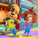 Pooches Supermarket: Family shopping