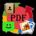 تبدیل تصاویر،پیامک،مخاطبین بهpdf