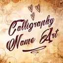 Calligraphy Name Art Maker 🖋️ Names on Background