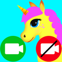 unicorn fake video call game