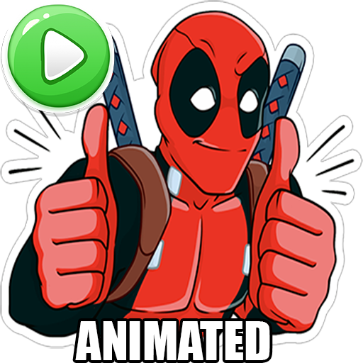 ☆ New Super Heroes Stickers (WAStickerApps)