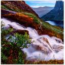 آبشارهای  بسیارزیبا(پس زمینه زنده )