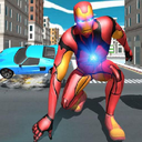 Iron Superhero War - Superhero Games