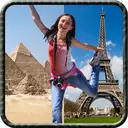 عکس شما در مکانهای مشهور