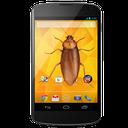 beetle on screen