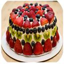 پخت کیک میوه ای درخانه
