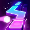 Dancing Ballz: Magic Dance Line Tiles Game