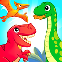 Dinosaurs 2 ~ Fun educational games for kids age 5