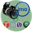 ضبط تماس ویدیوئی ایمو imo HD 1397